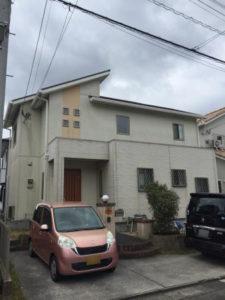 外壁塗装 屋根塗装 専門店スターペイント 福岡 塗装前写真