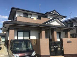 福岡県 古賀市 外壁塗装 屋根塗装 防水工事専門店 スターペイント 施工後写真