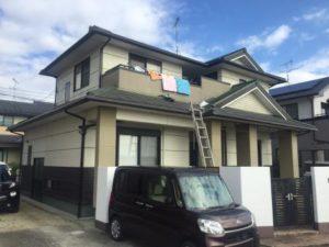 福岡県 古賀市 外壁塗装 屋根塗装 防水工事専門店 スターペイント 施工前写真