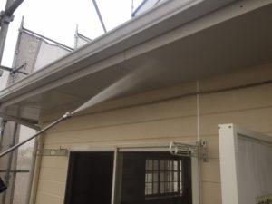 福岡県 福岡市 外壁塗装 屋根塗装 塗装専門店 スターペイント 施工事例 洗浄作業