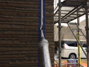 福岡 塗装工事 シーリング打ち換え サッシ廻り 縦目地 横目地 帯上